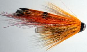 Ally's shrimp tube fly (mouche a saumon)