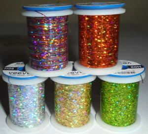 assortiment de 5 coloris de tinsel holographique Veevus (combo)