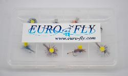 "Pack Euro-Fly ""Vision"" 8 mouches"