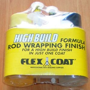 "Flex coat : resine epoxy de finition ""high build"" (kit 2 seringues)"