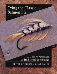 tying the classic salmon fly de Michael D. Radencich
