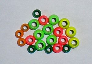 "casques billes ""perfect"" en laiton, par 100"