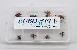 "Pack Euro-Fly ""Terrestre"" 8 mouches"