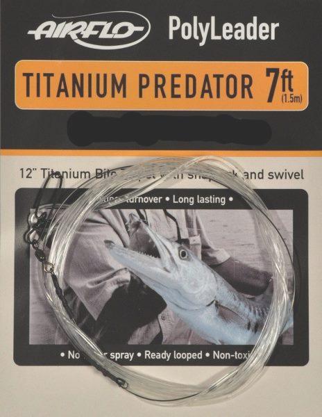bas de ligne polyleader airflo titanium predator special carnassiers. Black Bedroom Furniture Sets. Home Design Ideas