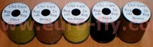 Uni-yarn regular : combo 5 bobines (assortiment)