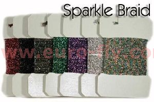 sparkle braid (tresse de tinsels brillants)