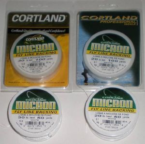 backing Cortland micron 30 livres